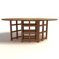 Charles Rennie Mackintosh DS1 Table
