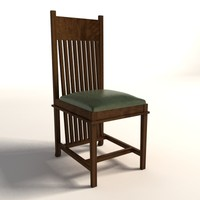 Frank Lloyd Wright Dana Thomas Side Chair