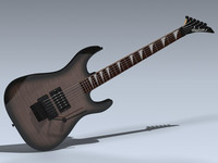 3d electric guitar dinky model