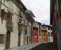 italy street 3d model