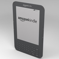 amazon kindle electronic 3d model