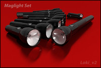 mag-light light set 3d max