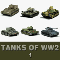 Tanks of WW 2 (1)