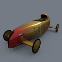 racer soapbox 3d model