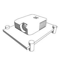 3d projector contour picture