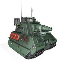 mini tank 3d model