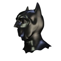 free 3ds model batman mask