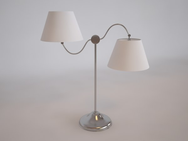 set barometer lamp 3d model
