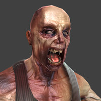 zombie maps normal 3d model