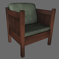 chair nextgen 3d model