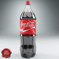 coca-cola 2l v2 3d model