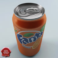 Drink Fanta 0,33L Aluminum Can