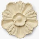 rosette 3D models