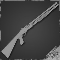 870 Tactical Shotgun