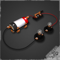 DC Simple Series Electric Circuit