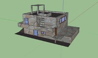 3d model house projects wars