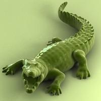 3dsmax aligator printing