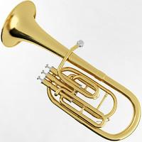 alto horn 3d model