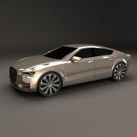 Sportback concept car