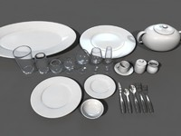 Dinner Set Dishes