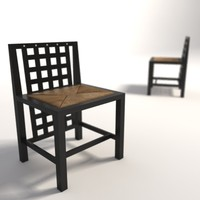 Charles Rennie Mackintosh DS3 dining chair