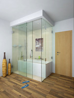 enclosed bathtube bathroom 3d model