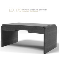 galimberti nino modern contemporary writing desk office Lo.175