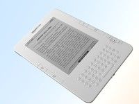 amazon kindle 3d model