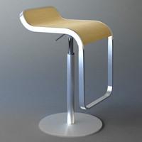 3ds max lem stool