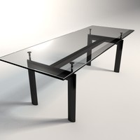 Le Corbusier LC6 Dining/Business Table