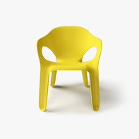 magis easy chair 3d model