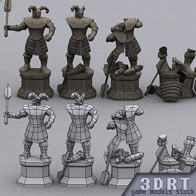 3DRT-Dungeon_Statues_pack-ver.1.0.zip