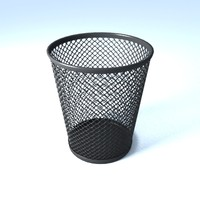 mesh pen pencil holder 3d model