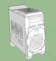 casemod pc 3d model