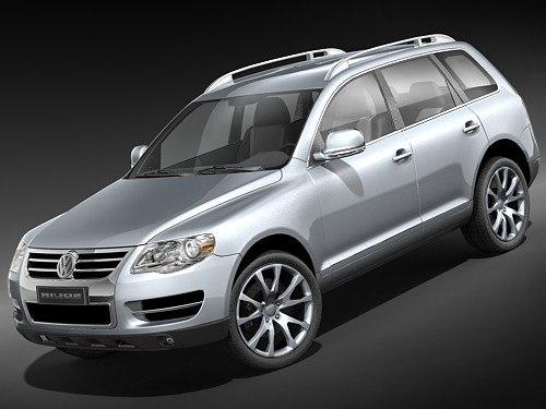 Volkswagen Touareg midpoly