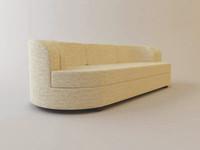 armani tarandot sofa 3d model