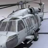 uh-60 blackhawk 3d model