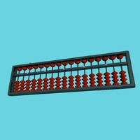 abacus soroban 3d model