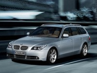 bmw 5 2006 estate 3d model