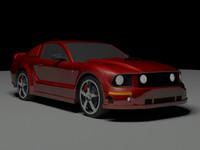 shelby 3d model