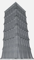 building tower 3d model