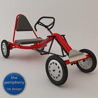 Pedals Karting Tubular