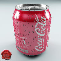 drink 0 237l aluminum 3d model