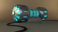 generator energy 3d model