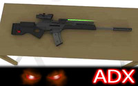 H&K_SL8 Rifle+ACOG scope & Laser