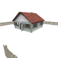 house vilage 3d model