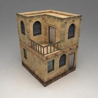 arab building 3d model