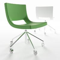 arj 06 chair mdf 3d model