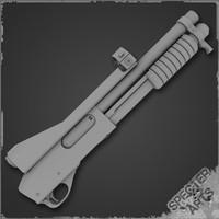870 Masterkey Shotgun