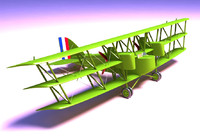 Boing GA-1 Triplane